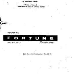Handouts, 1960-12-07. Labor...
