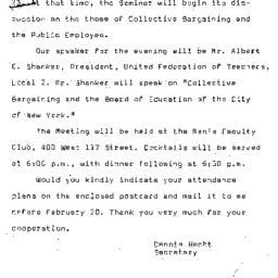 Announcements, 1966-02-23. ...