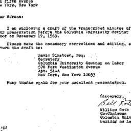 Correspondence, 1970-02-21....