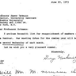 Correspondence, 1974-06-19....