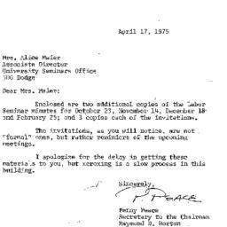 Correspondence, 1975-04-17....
