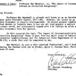 Announcements, 1986-04-04. ...