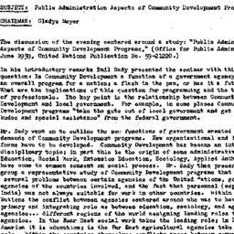 Minutes, 1960-01-20. Develo...