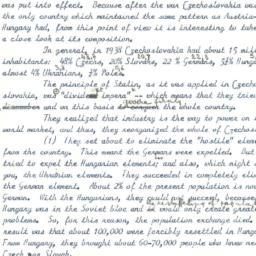 Speaker's paper, 1966-11-22...