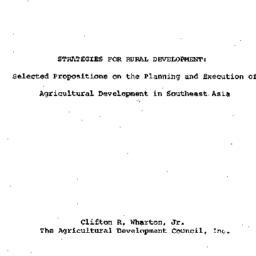 Speaker's paper, 1966-12-01...