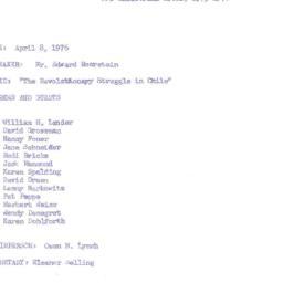 Minutes, 1976-04-08. Develo...