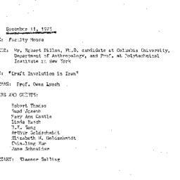 Minutes, 1975-12-11. Develo...