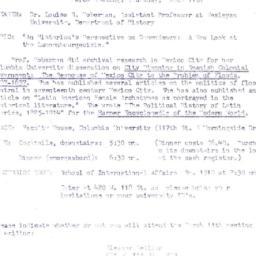 Announcements, 1976-03-11. ...