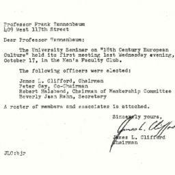 Correspondence, 1962-10-22....