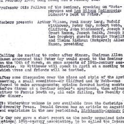 Minutes, 1968-02-21. Eighte...