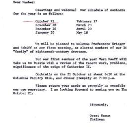 Announcements, 1971-09-30. ...