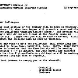 Announcements, 1979-09-25. ...