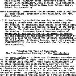 Minutes, 1982-01-18. Eighte...
