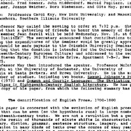 Minutes, 1988-09-15. Eighte...