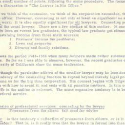 Minutes, 1950-11-06. The Pr...