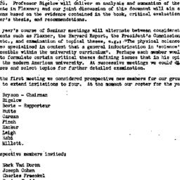 Minutes, 1951-10-12. Higher...