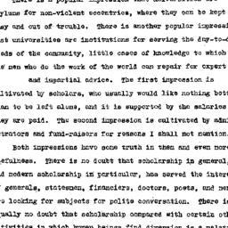 Speaker's paper, 1954-10-29...