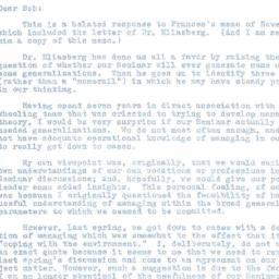 Correspondence, 1964-01-07....