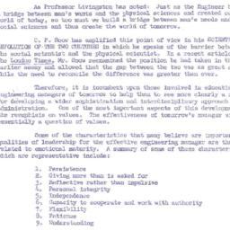 Speaker's notes, 1963-12-09...