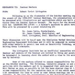 Correspondence, 1966-11. Or...