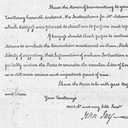 Document, 1787 April 23