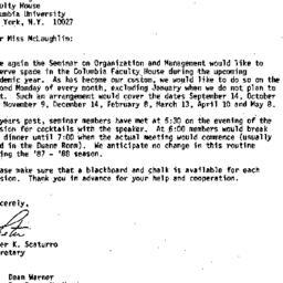Correspondence, 1987-08-21....