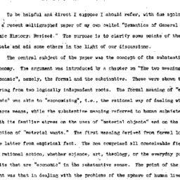 Speaker's notes, 1953-10-26...