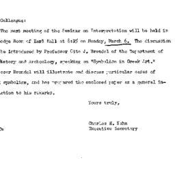 Announcements, 1961-02-24. ...