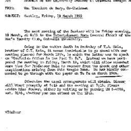 Correspondence, 1965-03-19....