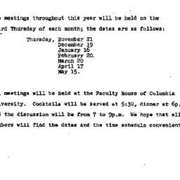 Announcements, 1974-09-15. ...