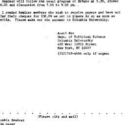 Announcements, 1986-10-01. ...