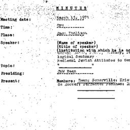 Background paper, 1971-03-1...