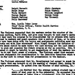 Minutes, 1957-04-03. The Ro...
