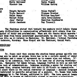 Minutes, 1957-10-22. The Ro...