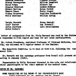 Minutes, 1957-12-10. The Ro...