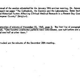Correspondence, 1961-01-10....