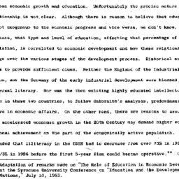 Speaker's paper, 1964-01-15...
