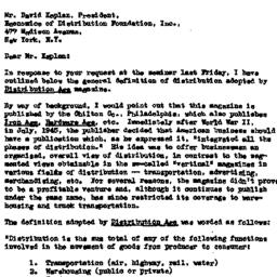 Correspondence, 1956-01-25....