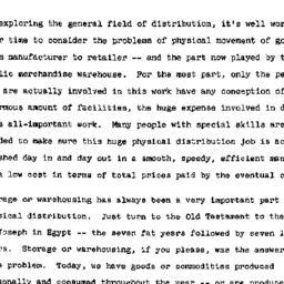Speaker's paper, 1956-11-26...