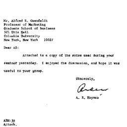 Correspondence, 1969-02-19....