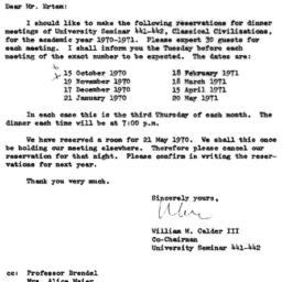 Correspondence, 1971-03-27....