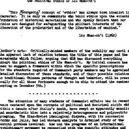 Speaker's paper, 1962-12-05...