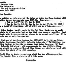 Correspondence, 1966-05-12....