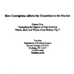Speaker's paper, 1998-05-14...