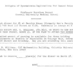 Announcements, 1974-03-18. ...