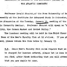 Announcements, 1967-12-27. ...