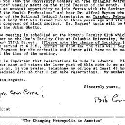 Correspondence, 1969-01-29....