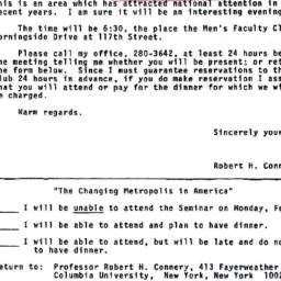 Announcements, 1970-01-26. ...