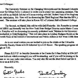 Announcements, 1997-02-17. ...