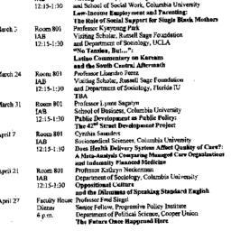 Announcements, 1998-02-18. ...